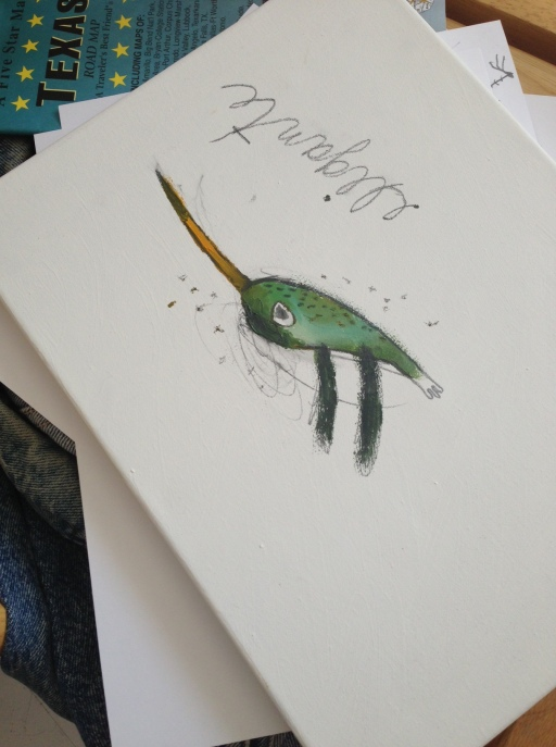 fly painting