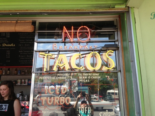 taco sign